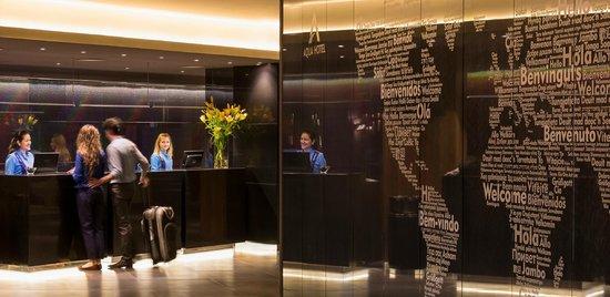 Aqua Hotel Aquamarina & Spa: Reception