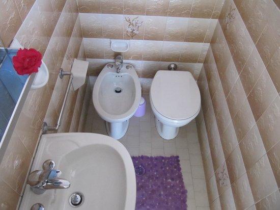 Hotel Villa Elia: bagno