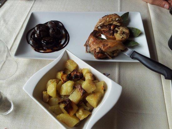 La Cascia: coniglio e patate arrosto