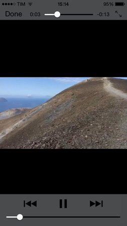 Scalata al Cratere : Hiking the rim