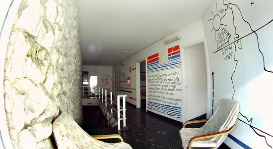 Sur Hostel : ambientes luminosos