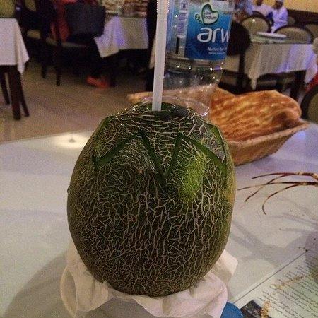 Turkish House Restaurant: Melon Juice