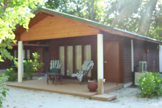Meeru Island Resort & Spa : Notre villa beach villa