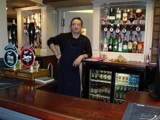 Plough Inn: mark the chef