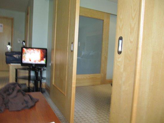 Lancaster House: Sliding Bathroom Door