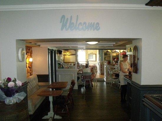 Plough Inn: entrance as you come in