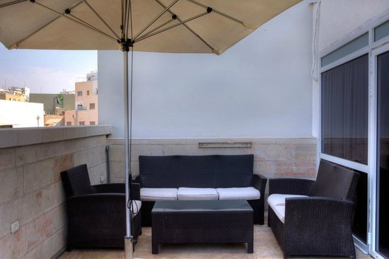 Hotel Ness Ziona : rooftop suite