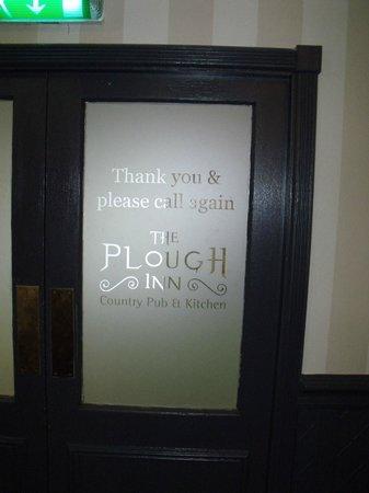 Plough Inn: entrance door