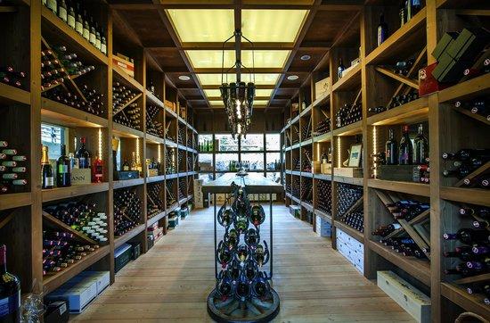 Almwellness Hotel Pierer: Weindegustationsraum