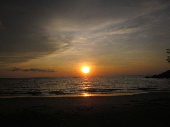 Radisson Hotel Brunei Darussalam: the sunset