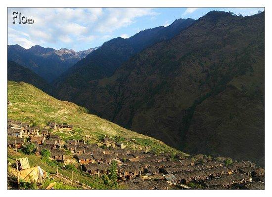 Bagmati Zone, Nepal: Vue depuis la Guesthouse