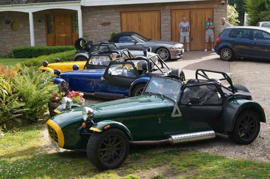 Highland Caterham Hire: Caterhams for hire