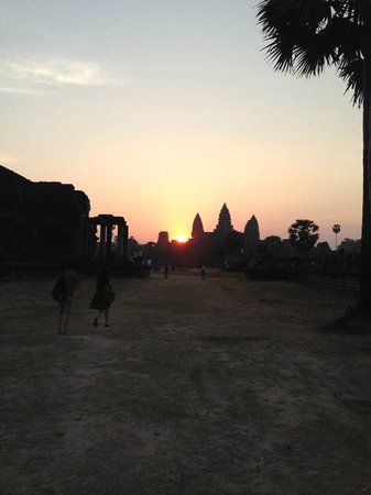 Peace of Angkor Tours: Angkor Wat in the morning.