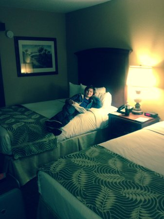 Rosen Inn International: The room