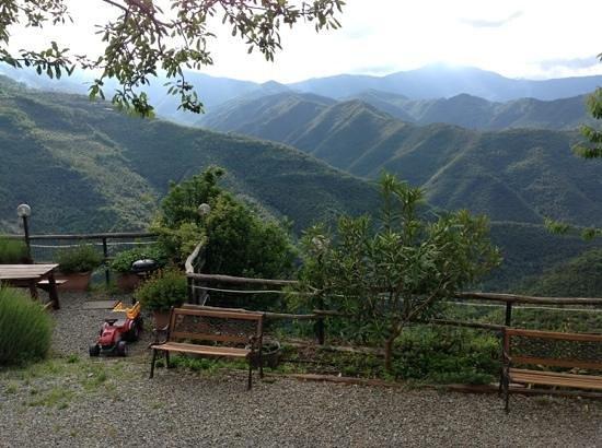 Agriturismo Al Pagan: vista dalla terrazza