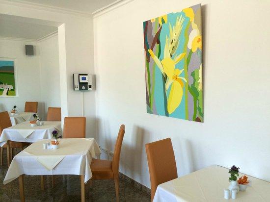 Arte Vita: Frühstückssaal Bild seitlich