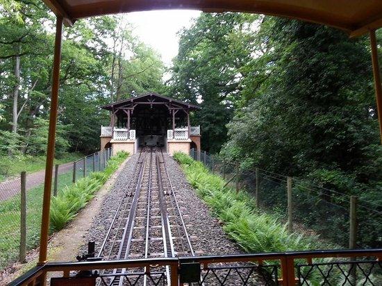 1888 Nerobergbahn Funicular: Schienen der Nerobergbahn