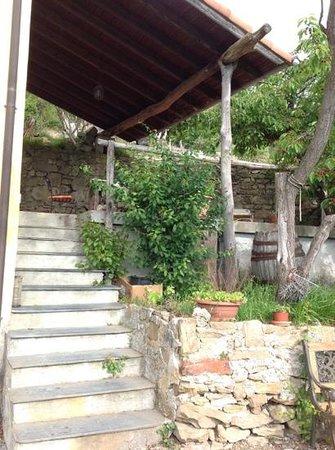 Agriturismo Al Pagan: terrazzino coperto