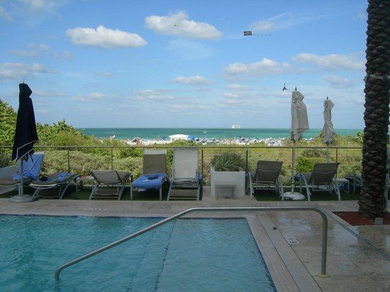 Marriott Stanton South Beach: View from one of the pools