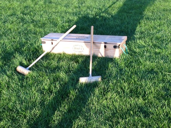 Coworth Park - Dorchester Collection : Complimentary croquet