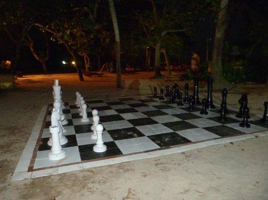 Mercure Resort Sanur: échiquier pour jouer