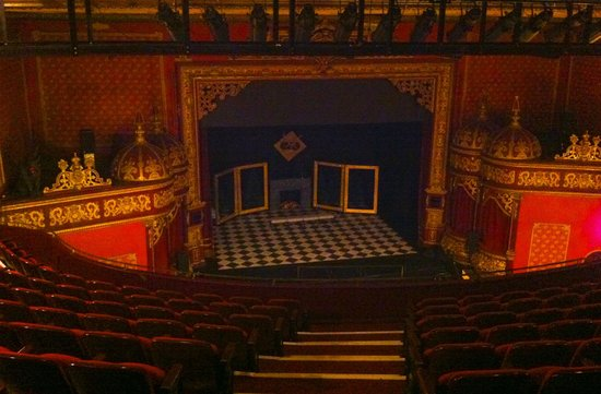 Everyman: Stage view from the balcony