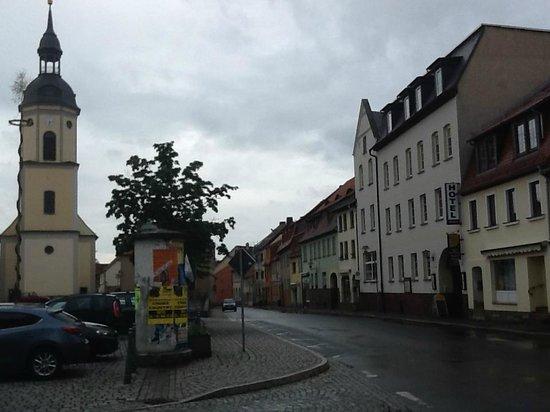 Hotel-Restaurant Mohren: Marktplat/Parkplatz mit Mohr