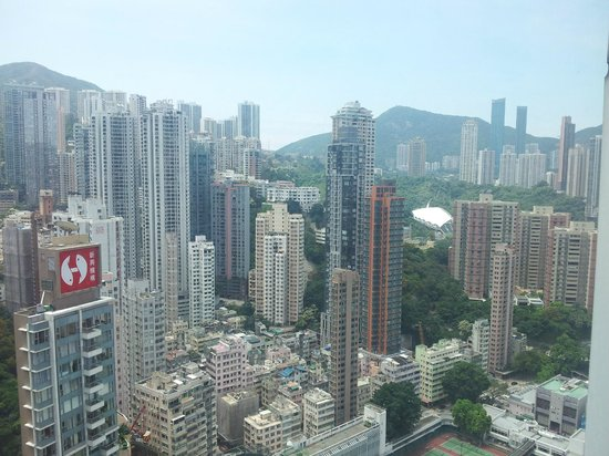 Metropark Hotel Causeway Bay Hong Kong: Smashing view