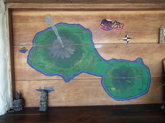 Finca Mystica: The map of the island