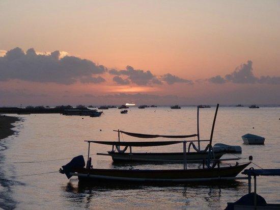 Mercure Resort Sanur : lever de soleil