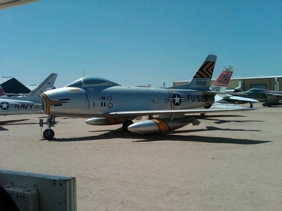 Pima Air & Space Museum: F-86