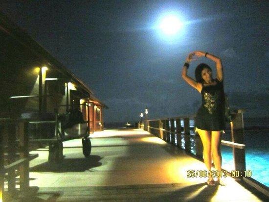 Paradise Island Resort & Spa: Beautiful at day, pretty at night.