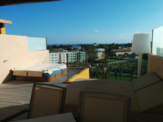Viva Tropic : Terrasse auf Room 1527