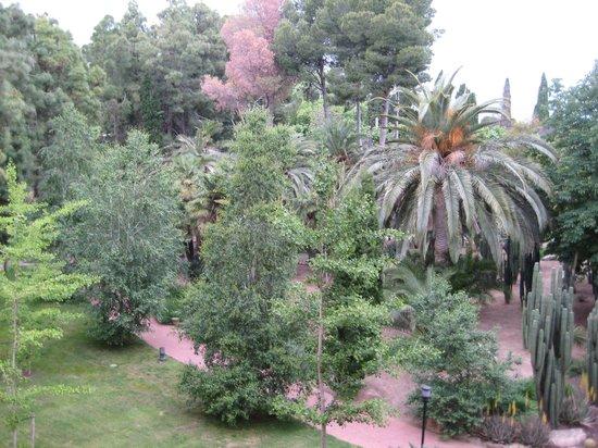 Hotel Termes de Montbrio - Resort Spa & Park: El jardín