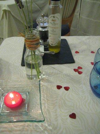 Hotel Termes de Montbrio - Resort Spa & Park : La cena romántica