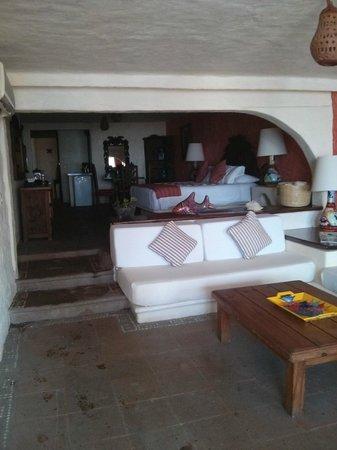 Aura del Mar Hotel: Vista de la habitacion a la llegada
