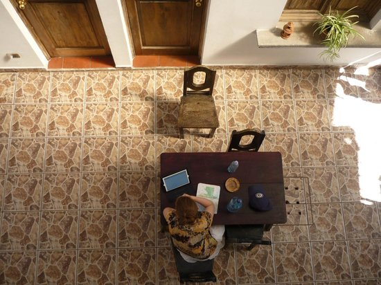Hotel Las Piletas : Planning our day