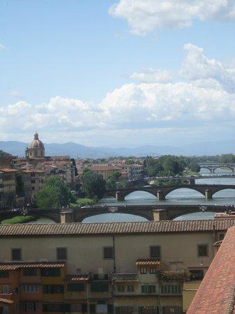 Galería de los Uffizi: View from the gallery