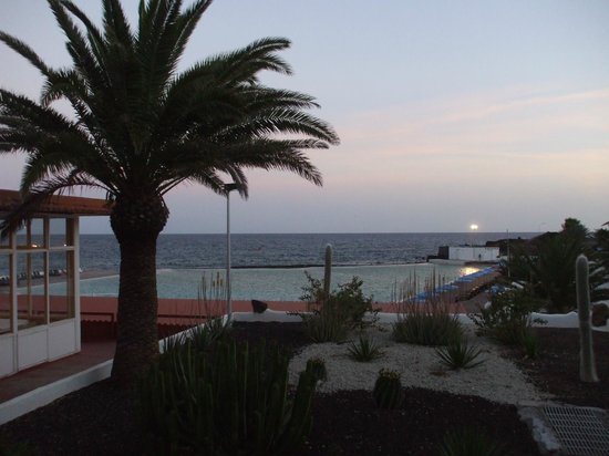 Alborada Beach Club: View from outside the dining room
