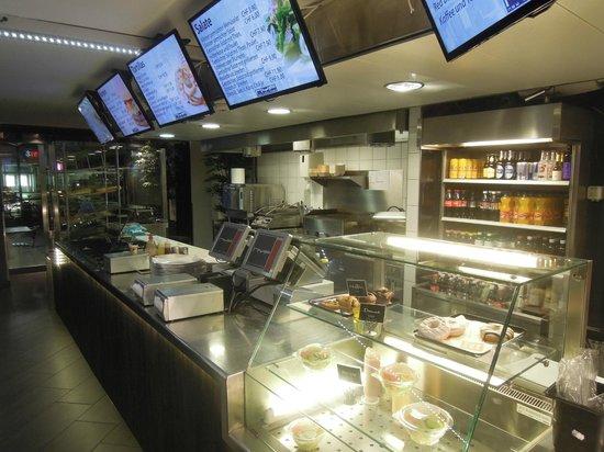 New York Food Company: menu