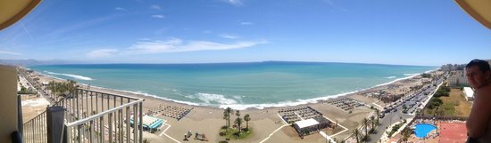 Hotel Puente Real: This is a panoramic pic from a superior room