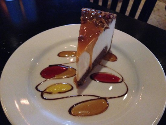 Texas de Brazil: Cheesecake