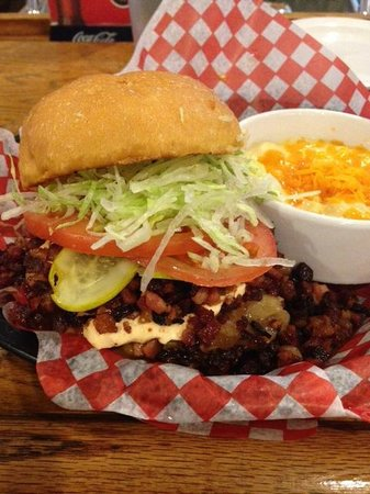 Memphis Fire Barbeque Company: Sneaky cheese burger with added bacon crumble.  Delicious!