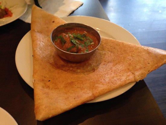 Ganesha Authentic Indian Cuisine: Dosa w/ Gohst
