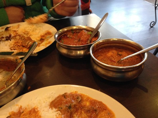 Ganesha Authentic Indian Cuisine: Various Shared Dishes