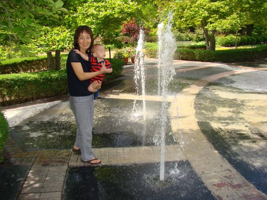 Cantigny Park : Water park for little ones.
