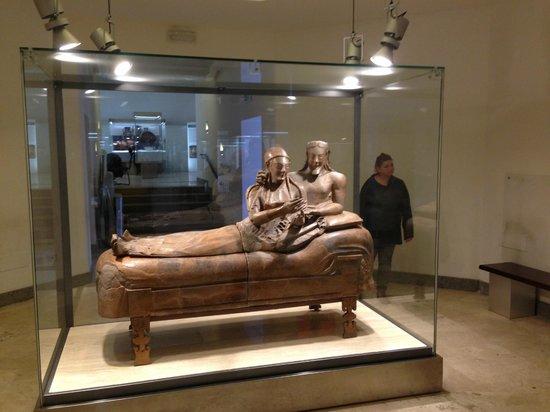 Museo Nazionale Etrusco di Villa Giulia : Husband and Wife