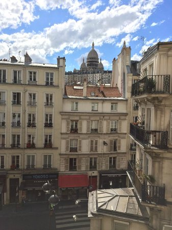 Residence Hotel Villa Montmartre: View from room