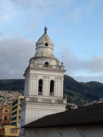 Hostal Quito Cultural: View from the room