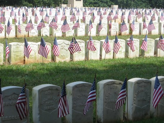 Andersonville National Historic Site and National Prisoner of War Museum: Memorial Day Weekend Visit to Cemetary
